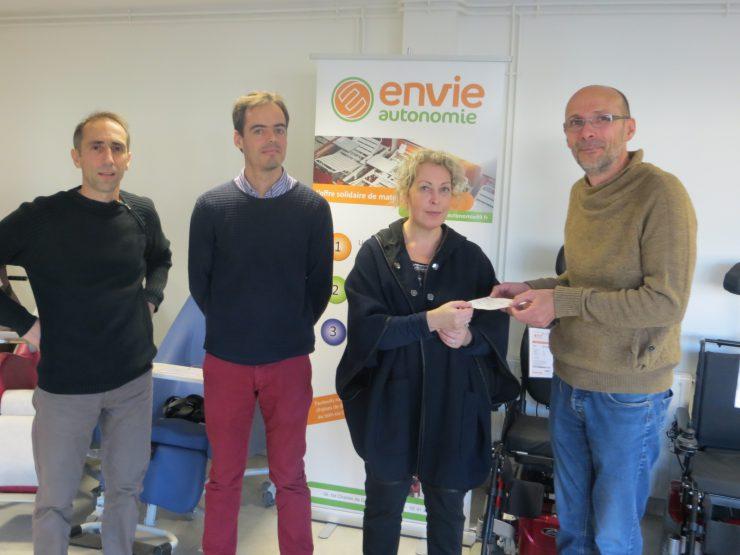 La mutuelle INTEGRANCE soutient ENVIE AUTONOMIE