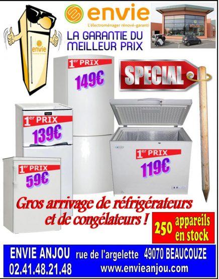 Réfrigérateurs et congélateurs aux meilleurs prix