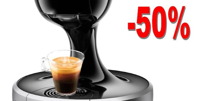 50 % de réduction sur l'expresso DOLCE GUSTO DROP