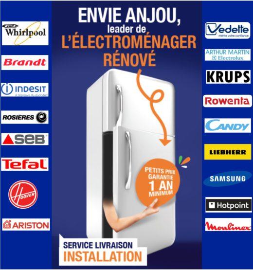ENVIE ANJOU leader des appareils rénovés de qualité