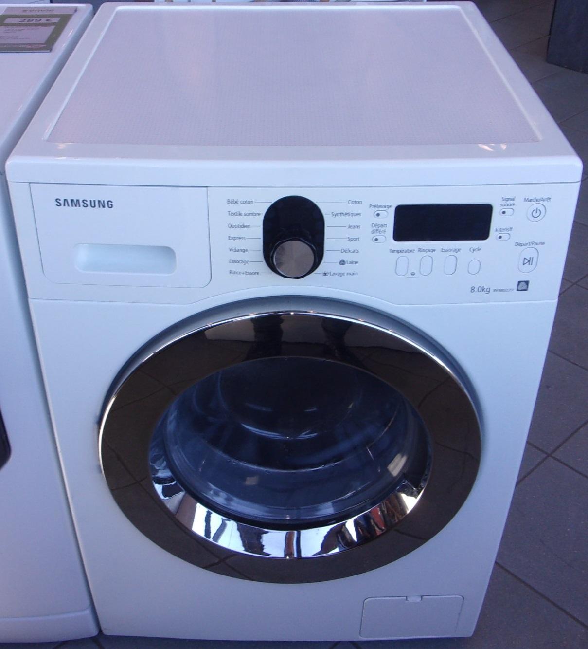 Lave Linge Hublot 8kg Samsung Envie Anjou