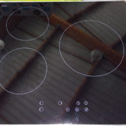 Plaque électrique 3 Foyers inductions HOME
