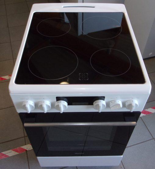 Cuisinière électrique 4 Feux HISENSE