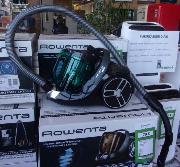 aspirateur traineau silence force cyclonic ROWENTA